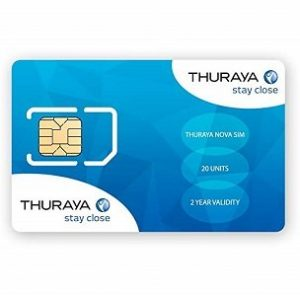 Thuraya Simcards in Kenya