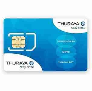 Thuraya Prepaid SIM Card