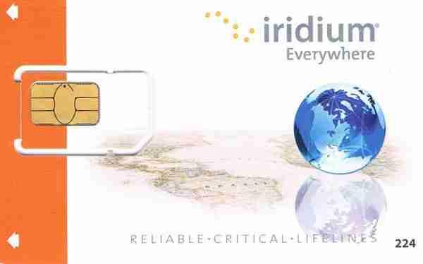Iridium Postpaid SIM Card